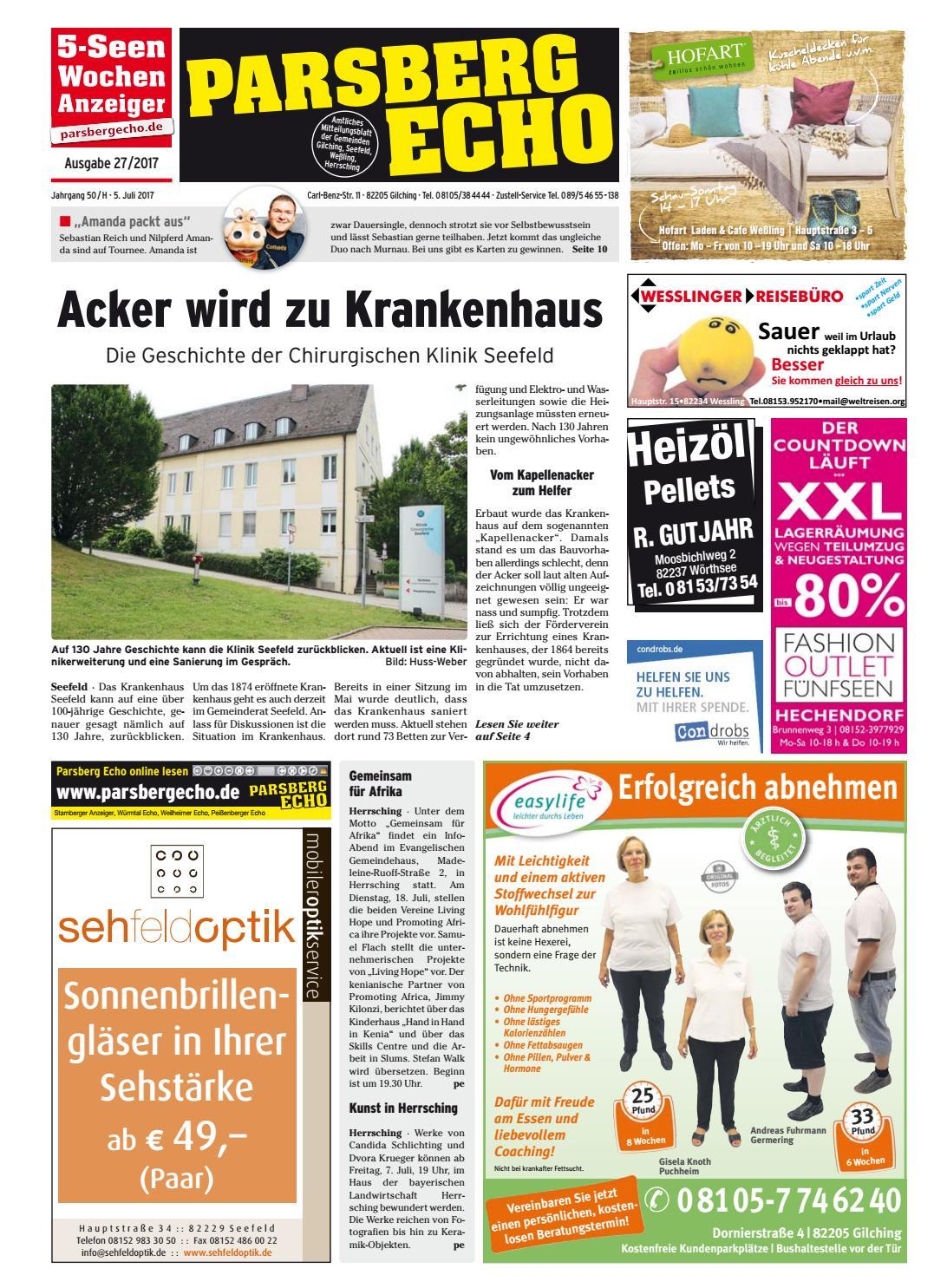 KW 27 2017 by Wochenanzeiger Medien GmbH issuu