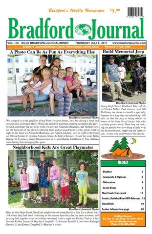 Bradfordjournalcolorissue7 6 17y by Bradford Journal - issuu
