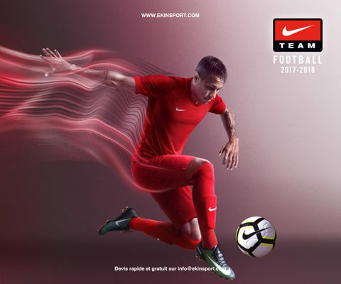 1d53275f7c Catalogue Nike Teamsport 2017-2018 by Ekinsport - issuu