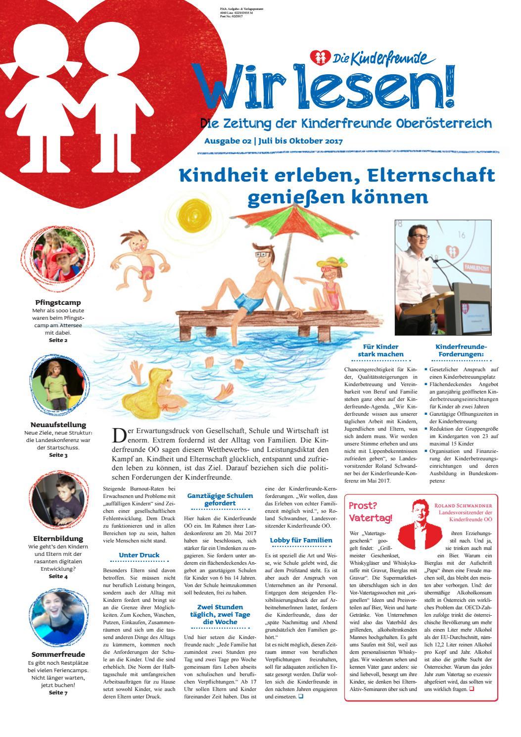 e95574a01e98fd KF - Wir lesen! Ausgabe 02 2017 by Kinderfreunde OOE - issuu