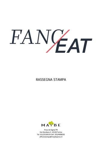 Fanceat rassegna stampa by maybe ufficio stampa - issuu cbd187a762ff