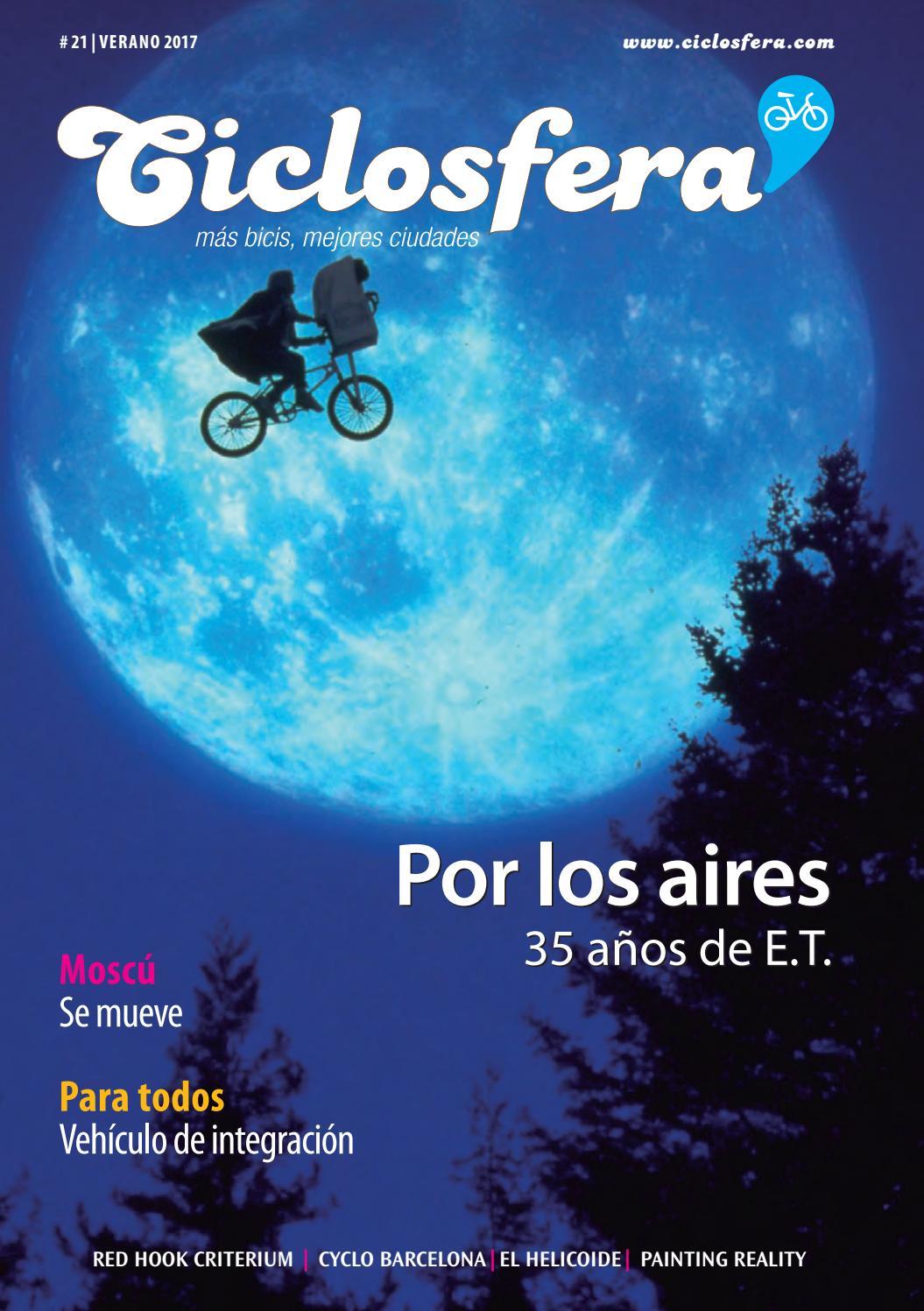 Ciclosfera #21 (verano 2017) by Revista Ciclosfera - issuu