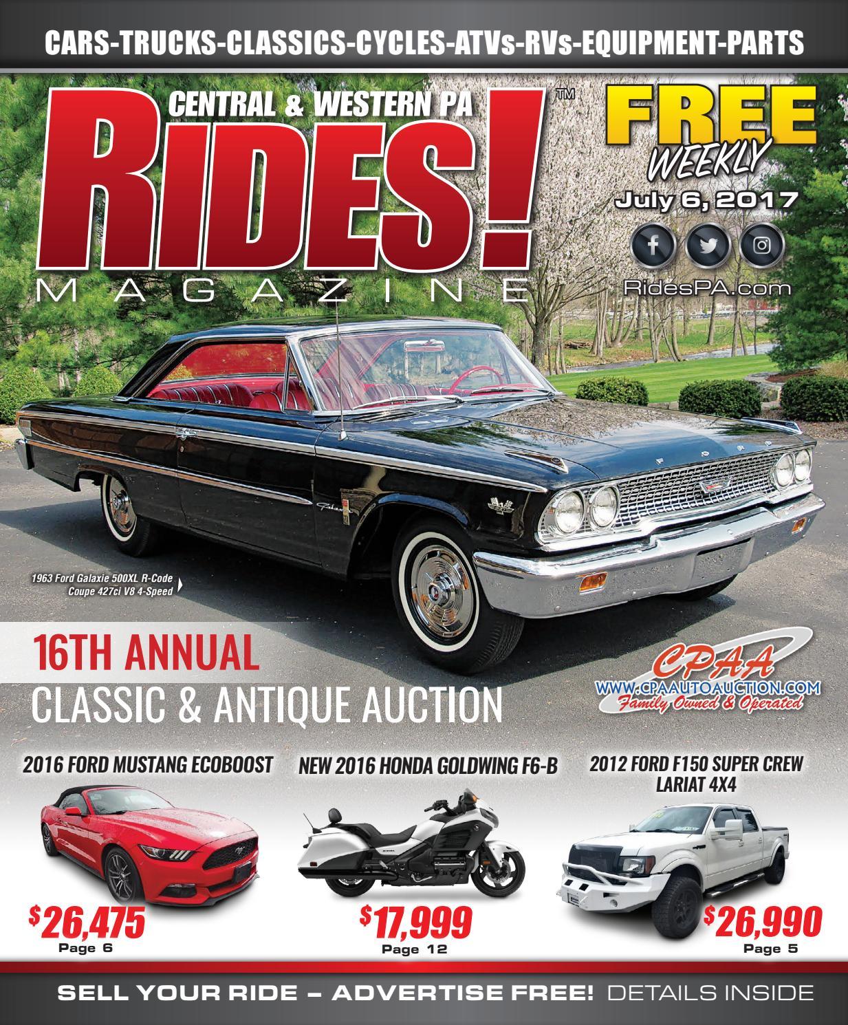 Rides! Magazine - July 6, 2017 by Stott Media - issuu
