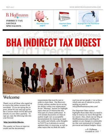 online retailer d8648 96eea BHA Indirect Tax Digest  2017 Q1