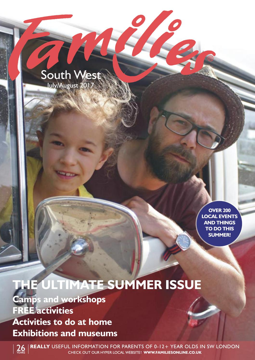 Families London Sw July August 2017 Issue 268 By Families Magazine