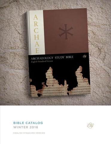 Esv Winter 2018 Bible Catalog By Crossway Issuu