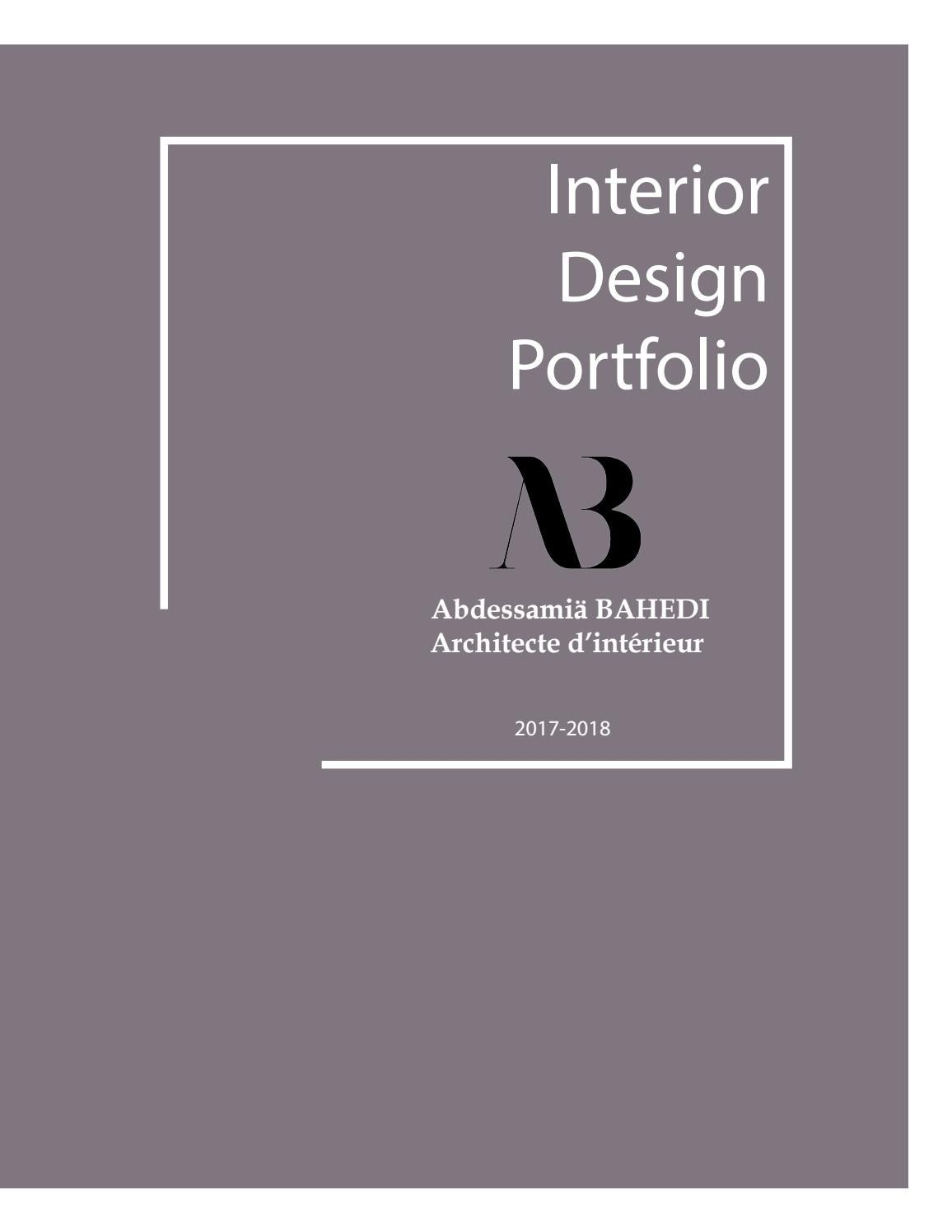 Book Architecte D Intérieur portfolio architecte d'intérieur rabatsammy bahedi - issuu