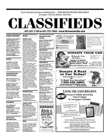Classifieds - July 6, 2017 by TBR News Media - issuu