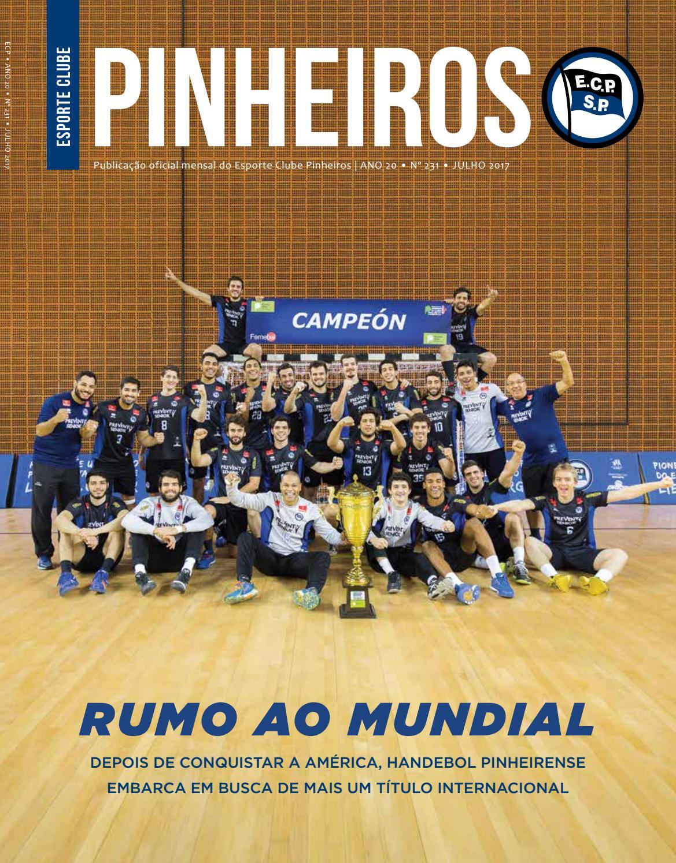 Revista nº 231 julho de 2017 by Esporte Clube Pinheiros - issuu 55d04d6adfe9e