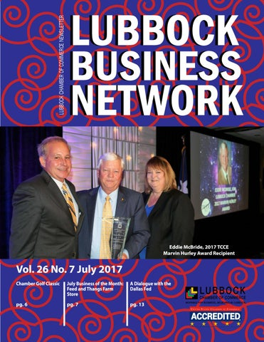 Lubbock Business Network - July 2017 Newsletter