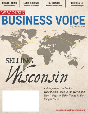 Wisconsin Business Voice - July 2017 by Wisconsin ... on map of algoma wi, map of city of madison wi, map of jacksonport wi, map of the fox valley wi, map of black river falls wi, map of ohio by county, map of washington island wi, map of liberty grove wi, map of green bay wi, map of apostle islands wi, map of menomonie wi, map of racine wi, map of de soto wi, map of wisconsin, map of lakewood wi, map of beloit wi, map of peninsula state park wi, map of castle rock lake wi, map of baileys harbor wi,