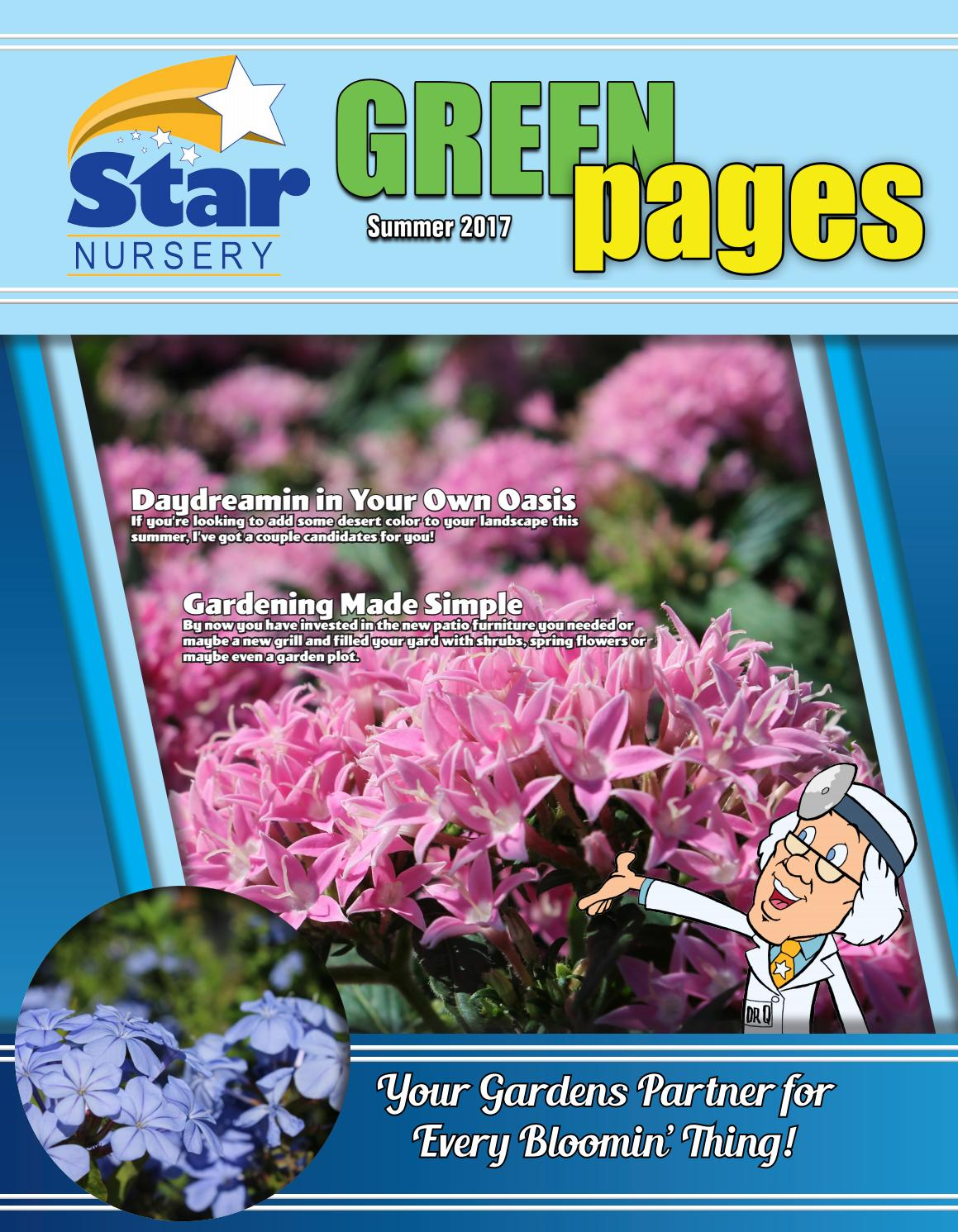Star Nursery S Summer Green Pages 2017 By Star Nursery Issuu