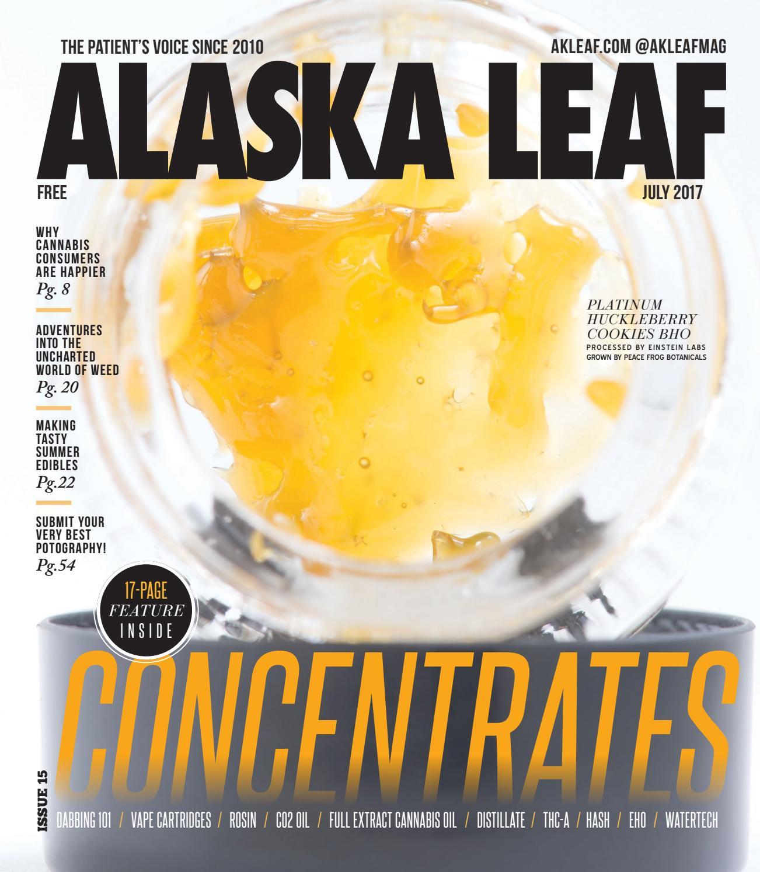 Alaska Leaf — July 2017 by Northwest Leaf / Oregon Leaf