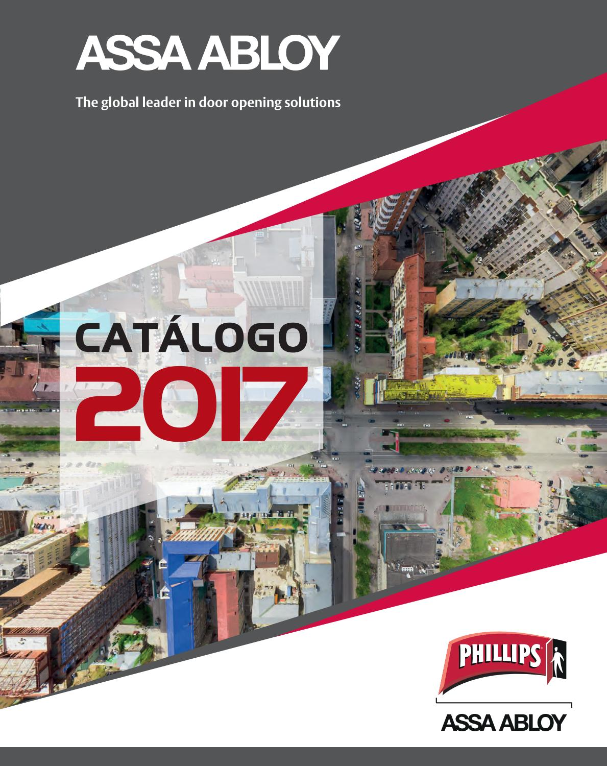 Catalogo phillips 2017 by assa abloy m xico issuu for Puntos galp catalogo 2017