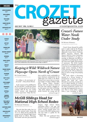 Crozet Gazette July 2017 By The