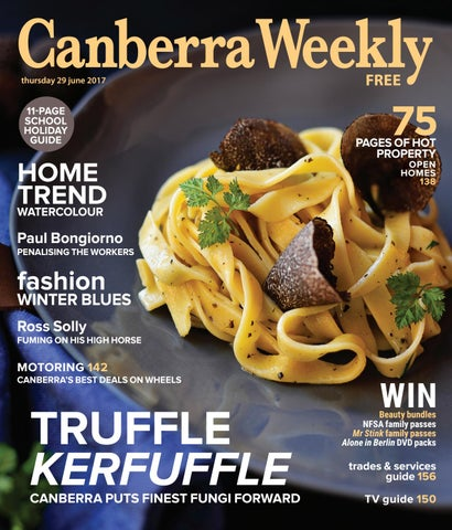 4d8f275a4ba37 29 June 2017 by Canberra Weekly Magazine - issuu