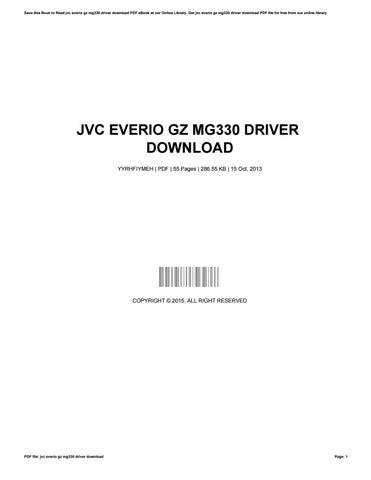 Jvc everio gz mg330 driver download by AdamVines1287 - issuu