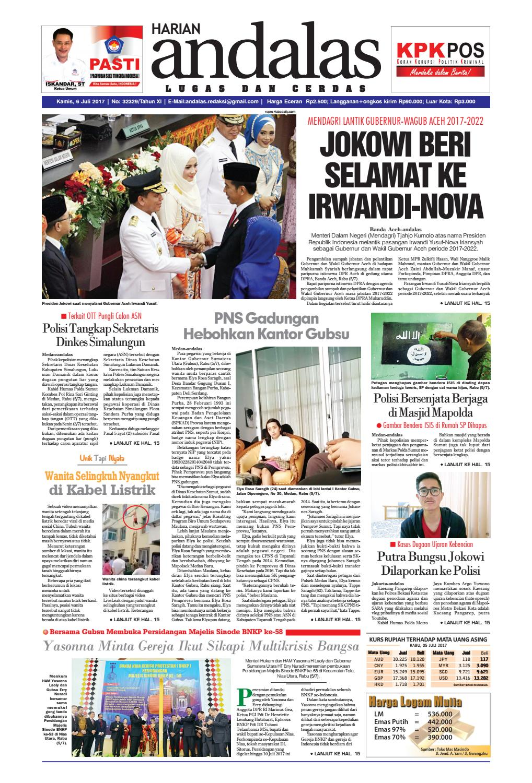 Epaper andalas edisi kamis 6 juli 2017 by media andalas - issuu 19148e1e8b
