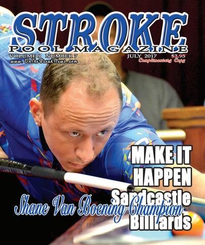 Stroke Pool Magazine July Issue 2017