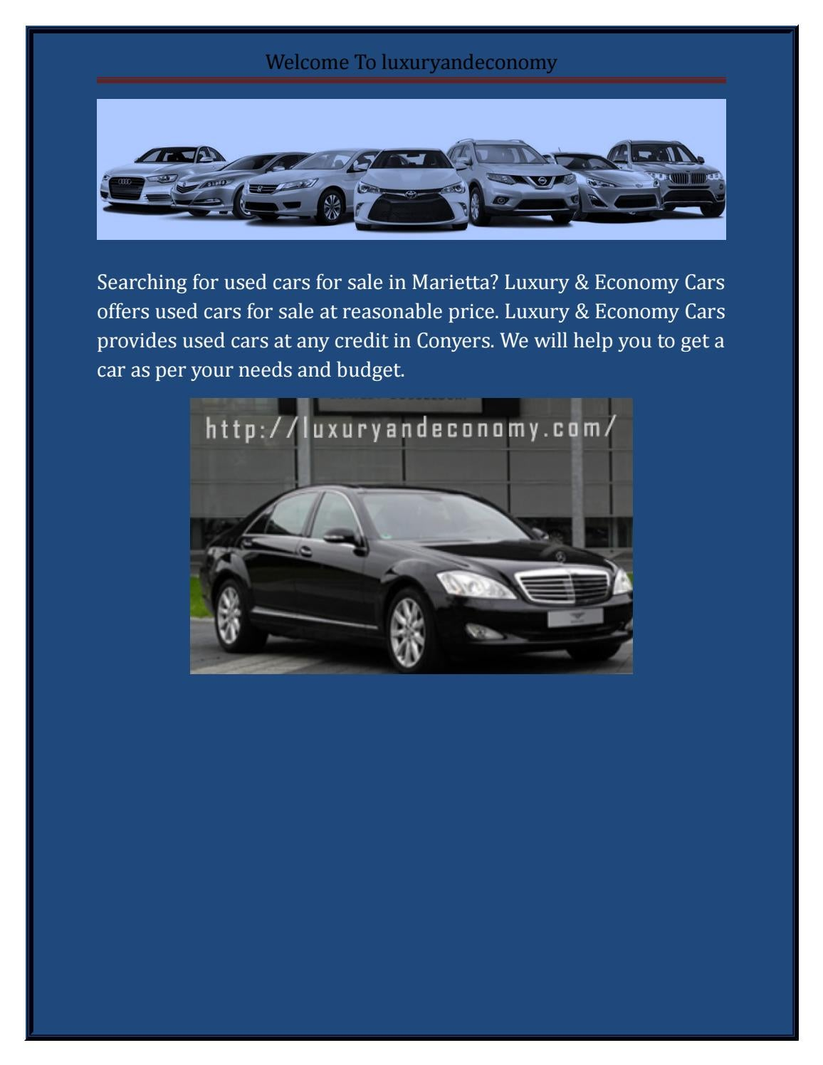 Buy a used Car Atlanta by jonathanlambess - issuu