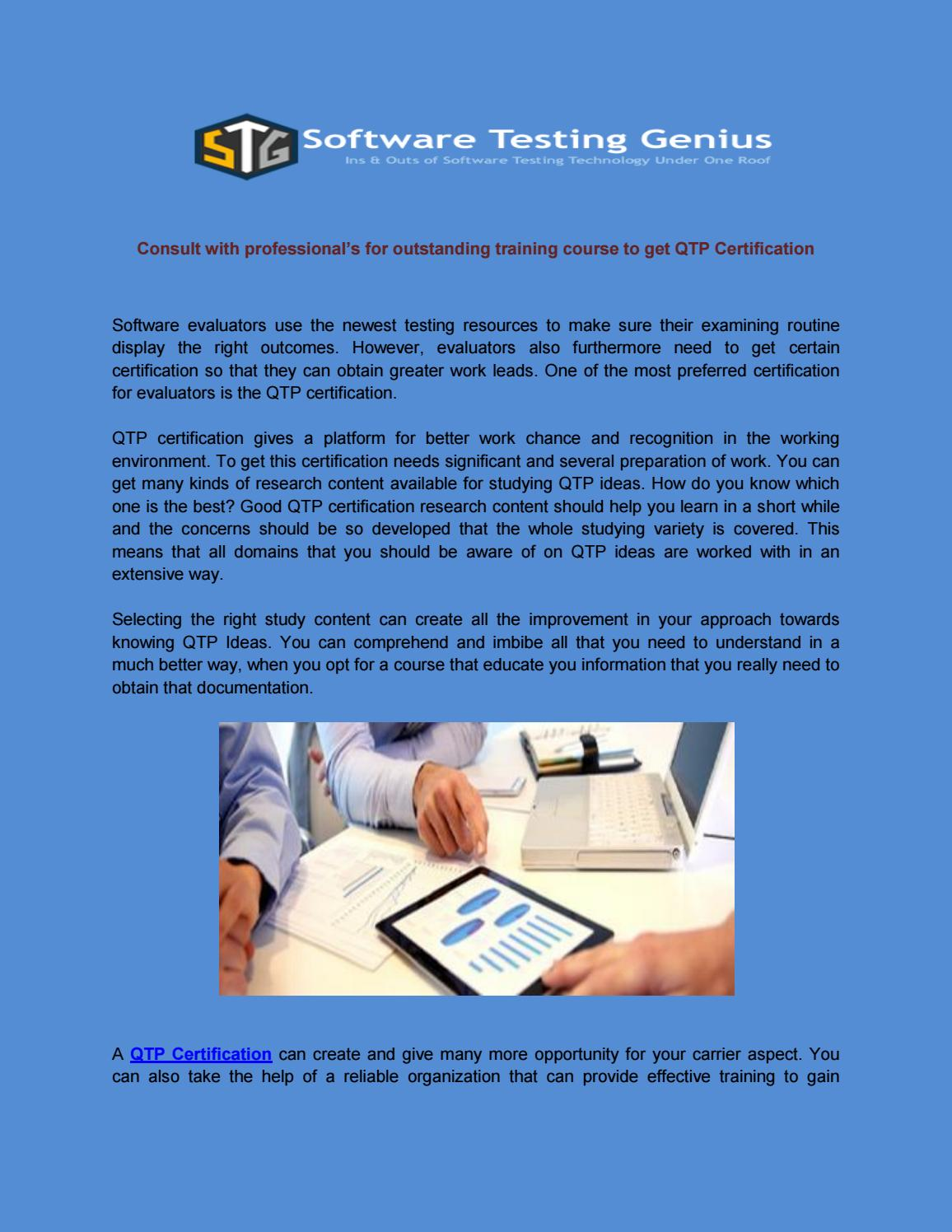 Consult With Professionals For Outstanding Training Course To Get