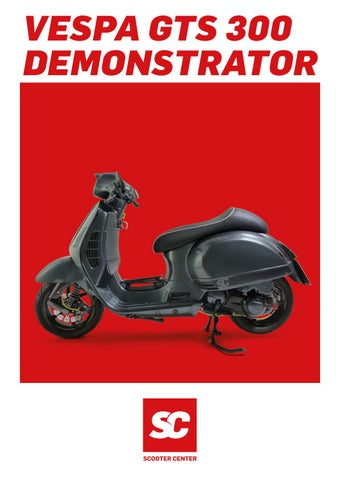 vespa gts 300 tuning katalog by scooter center gmbh issuu. Black Bedroom Furniture Sets. Home Design Ideas