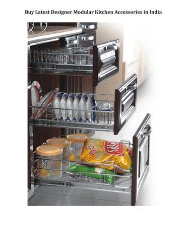Page 1. Buy Latest Designer Modular Kitchen Accessories ...