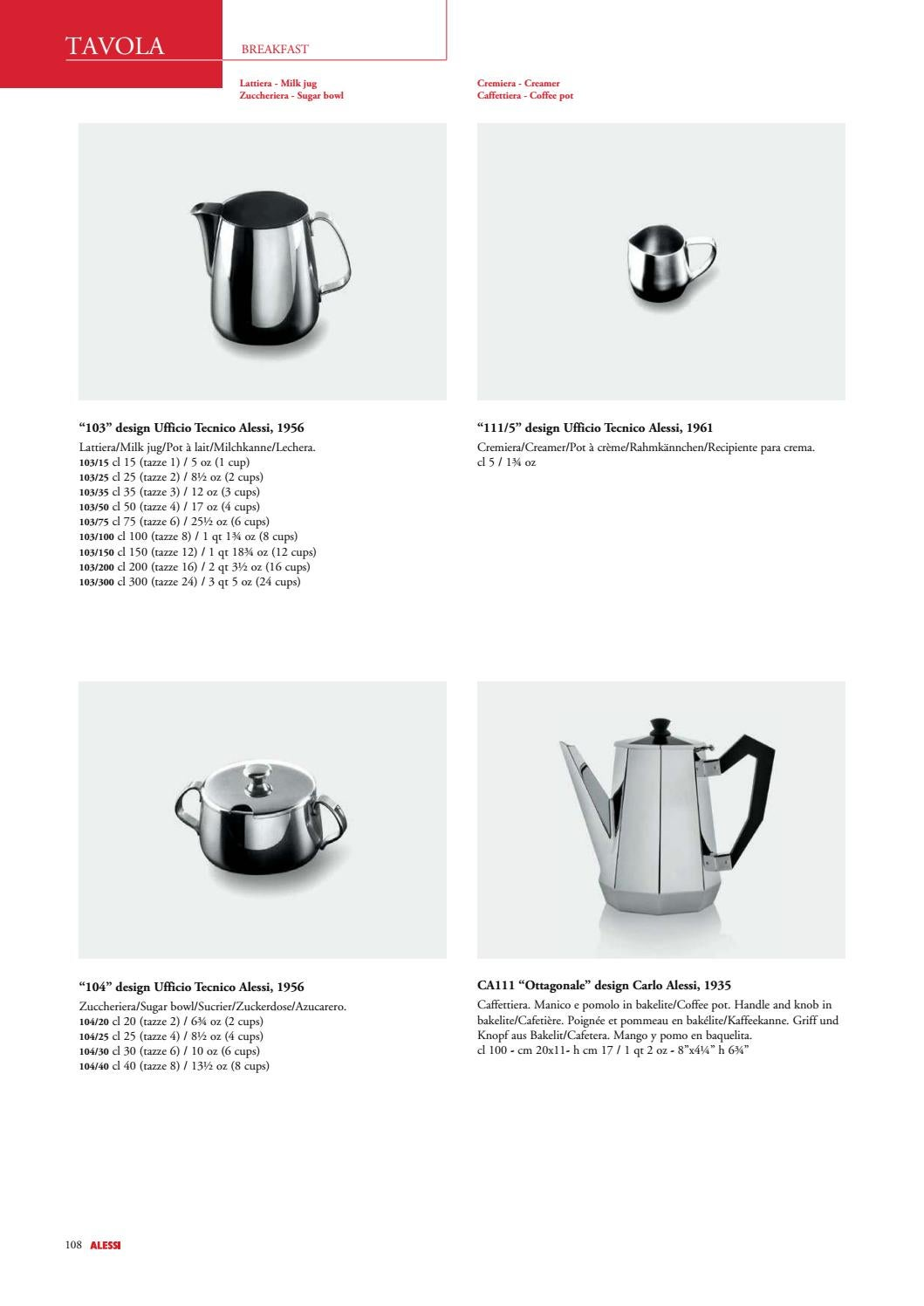 Alessi Catalogue by Alessi s p a  - issuu