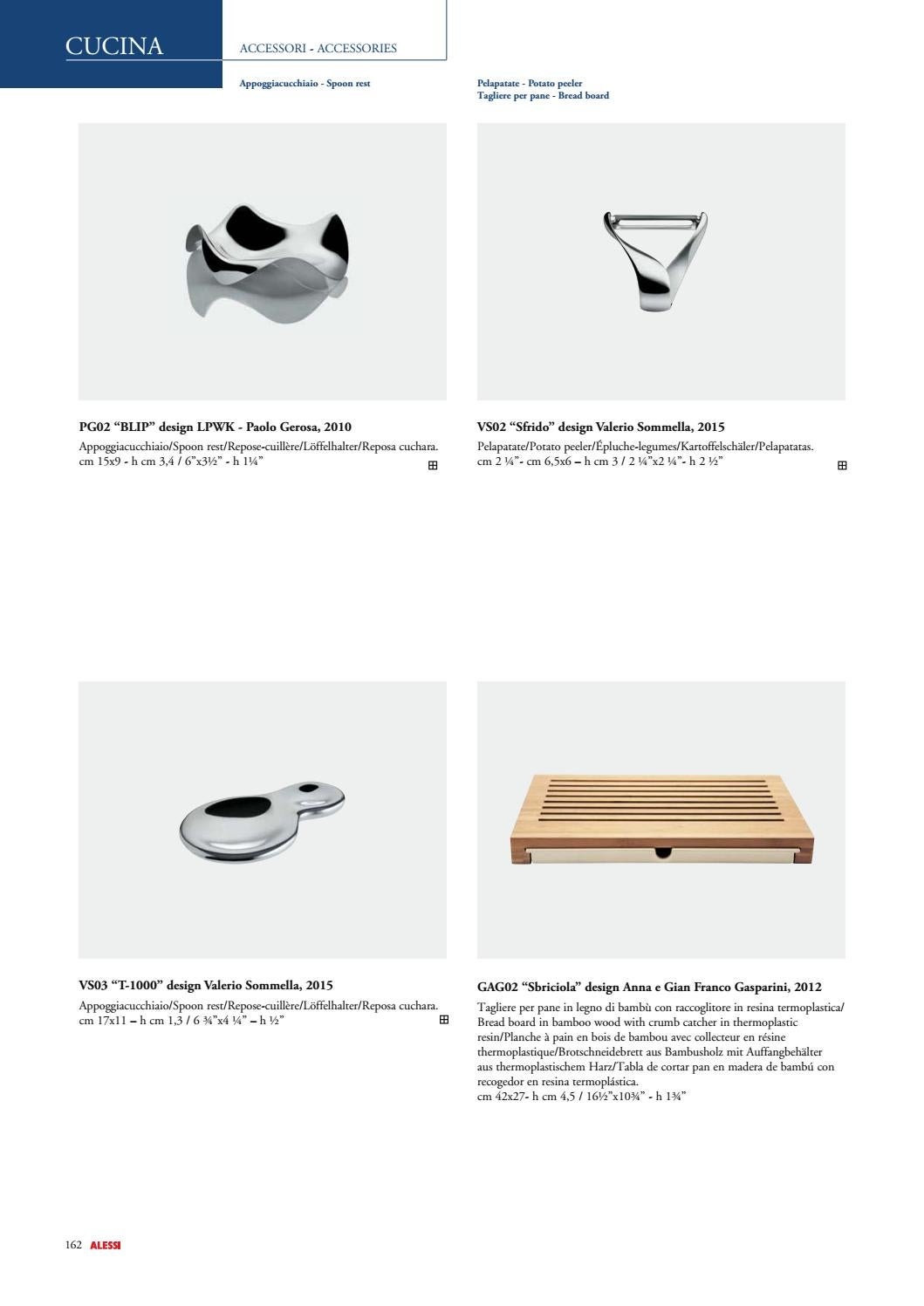 Cucina 4 X 4 alessi catalogue by alessi s.p.a. - issuu