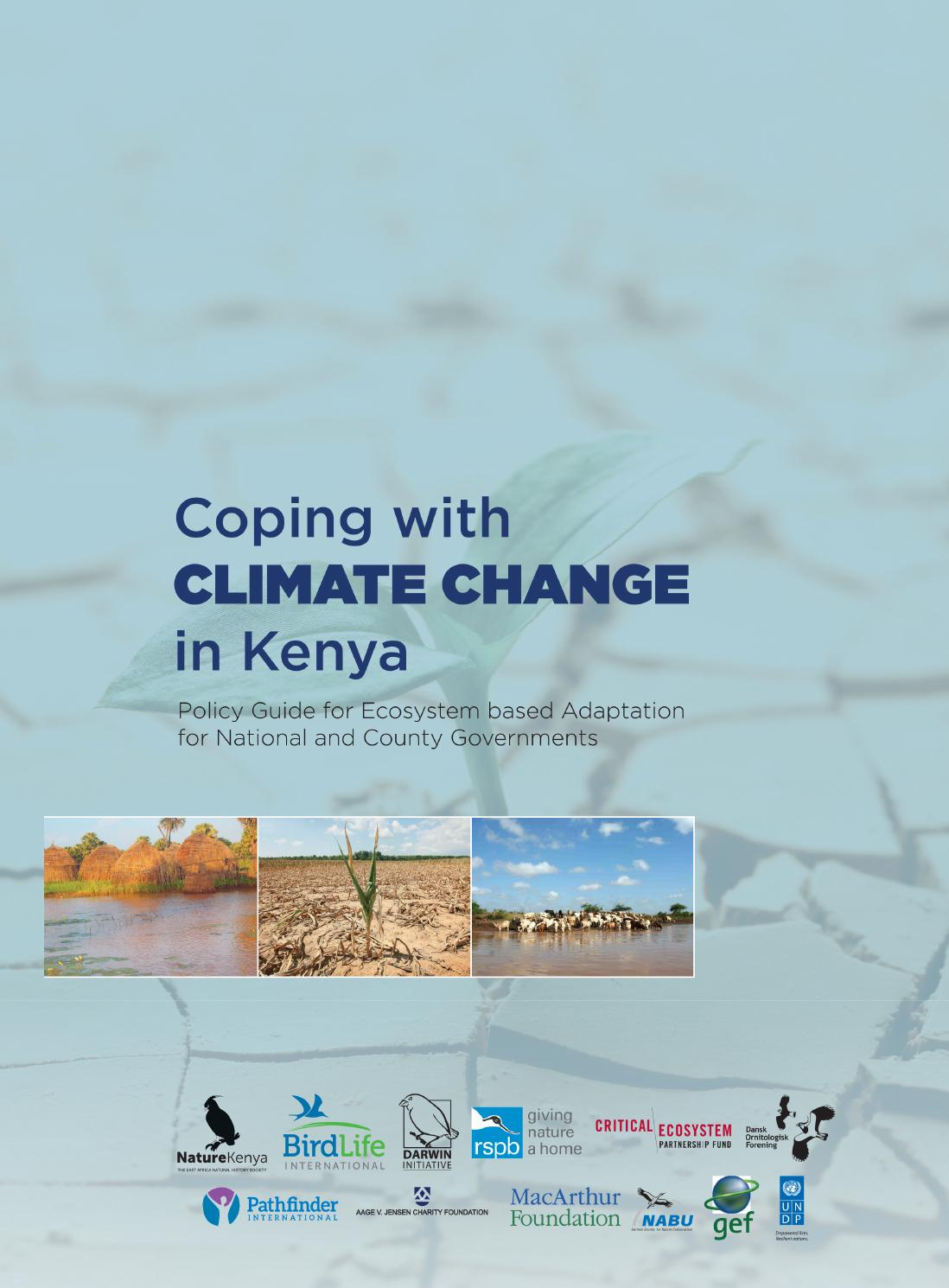 Coping with Climate Change in Kenya by Nature Kenya