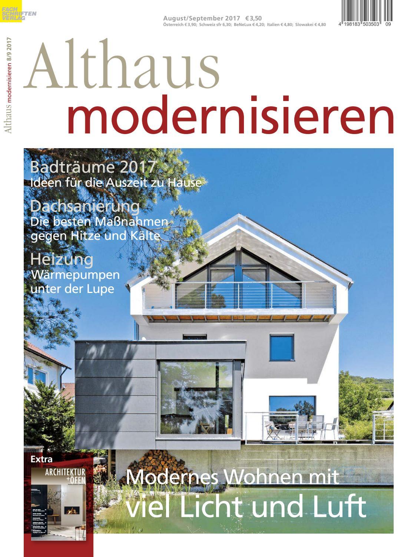 Althaus modernisieren 8/9-2017 by Fachschriften Verlag - issuu