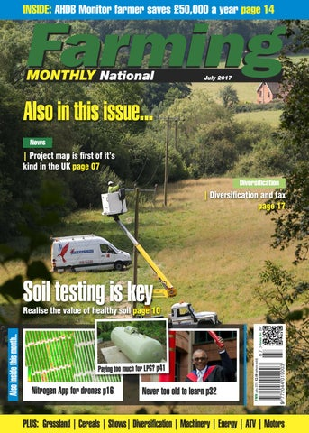 July 2017 Farming Monthly National by Farming Monthly Ltd