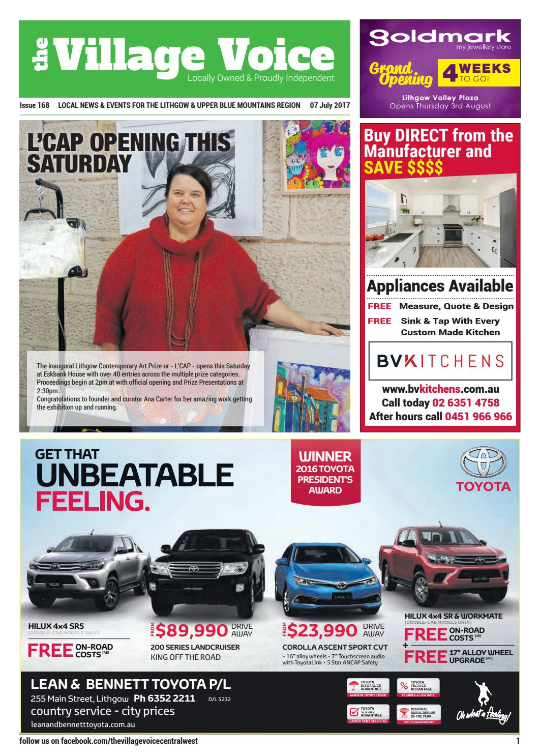 Lithgow Local Community Newspaper - Issue #168 by Village Voice Newspaper -  issuu