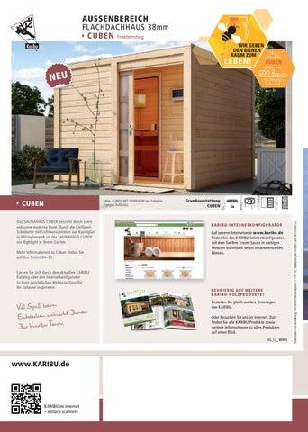 Karibu Saunen By Kaiser Design Issuu