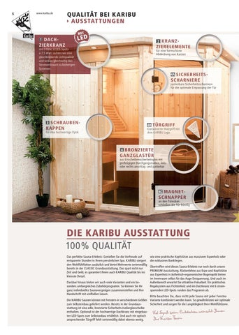 Karibu Saunen By Kaiser Design Issuu