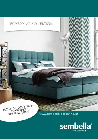 Sembella Boxspring Kollektion By Wohnnet Issuu