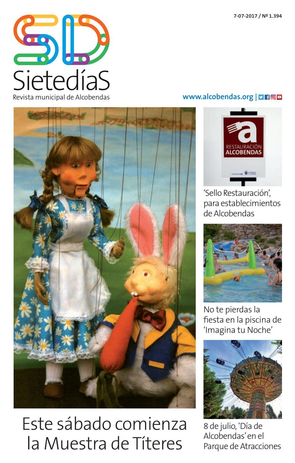 Sieted as 1394 by ayuntamiento de la ciudad de alcobendas issuu - Fiestas en alcobendas ...