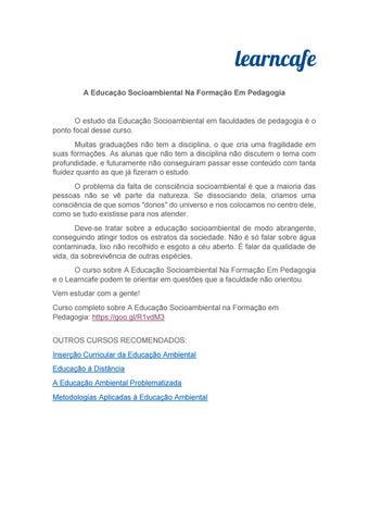 5b32af80b1 Catálogo Educação e Pedagogia - Editora Appris by Carlos Pereira - issuu