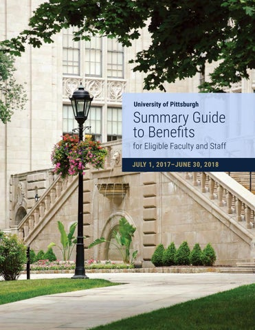 Summary Guide 2017-18 by University of Pittsburgh Office of Human