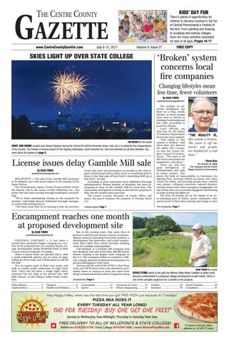 Centre County Gazette, July 6, 2017 by Indiana Printing   Publishing ... 83e04836d5d0