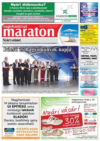 Nagykanizsai Maraton - 2017. 07. 07. by Maraton Lapcsoport Kft. - issuu c2a2cb43bd