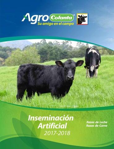 Catalogo Inseminacion Artificial Colanta 2017_2018 by Alvaro Salgado ...