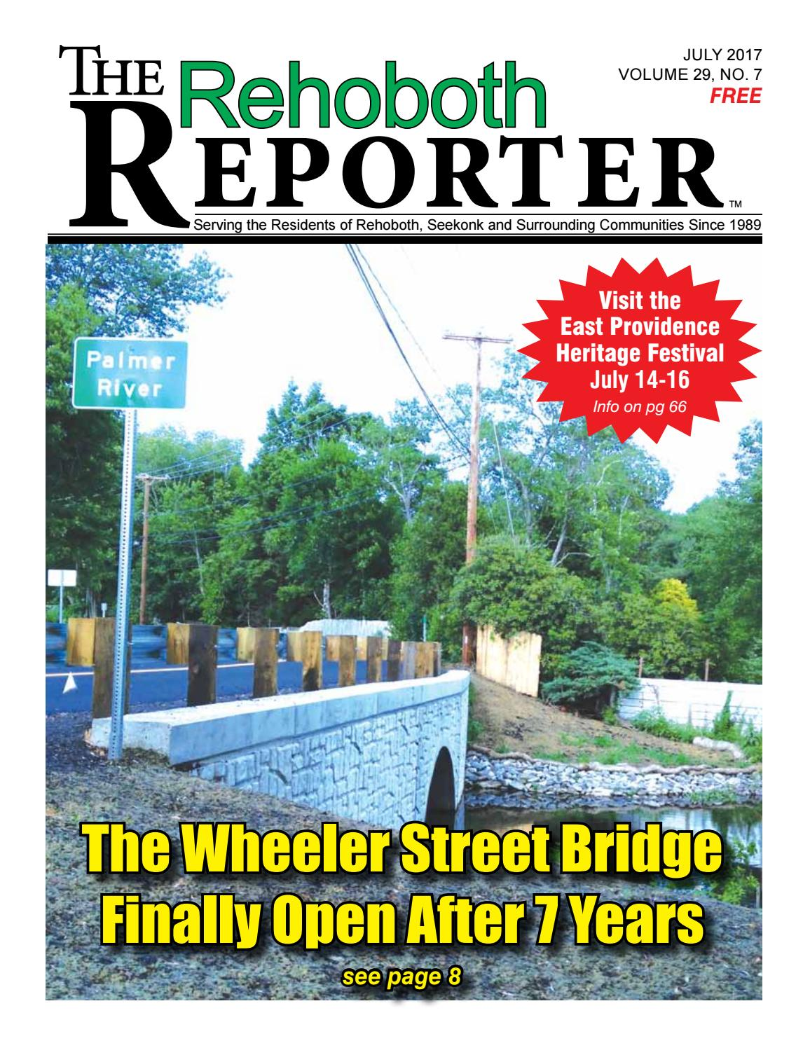 July 2017 Rehoboth Reporter