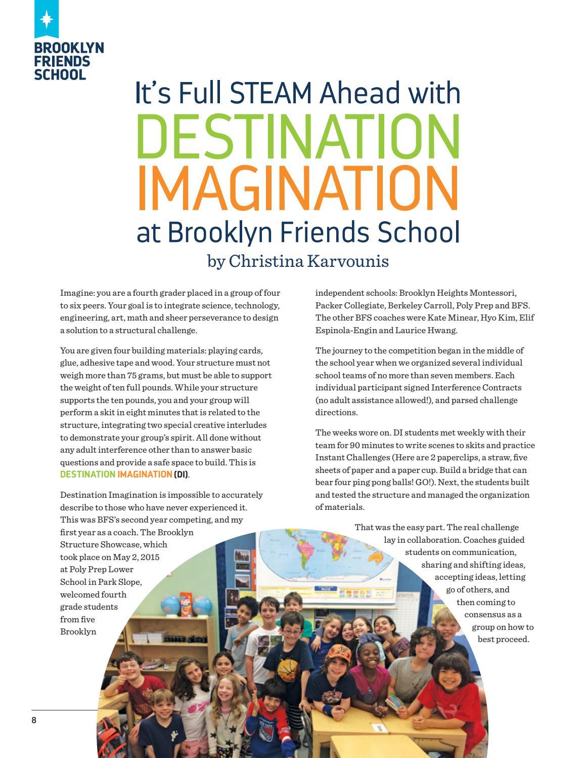 BFS Journal Fall 2015 by Brooklyn Friends School - issuu