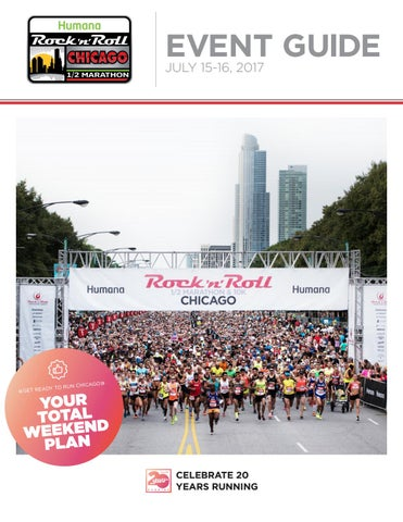 2017 humana rock 'n' roll chicago event guide by competitor group.