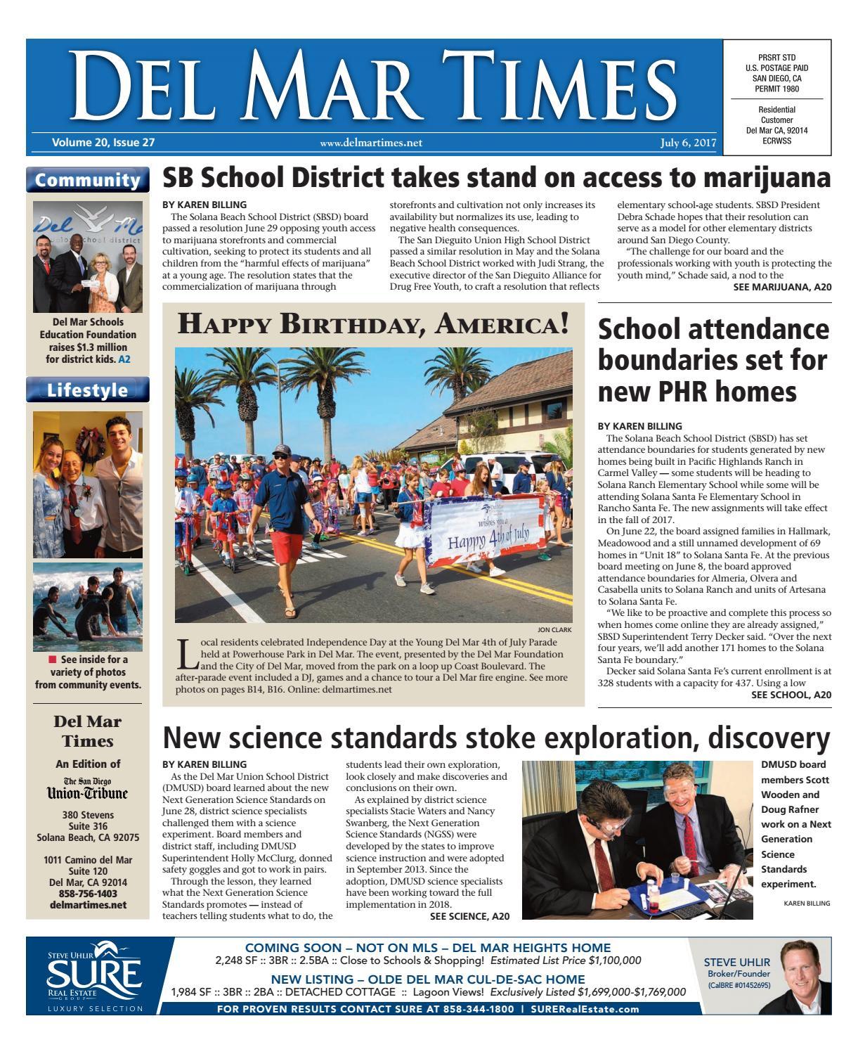 01b486727a Del Mar Times 07 06 17 by MainStreet Media - issuu