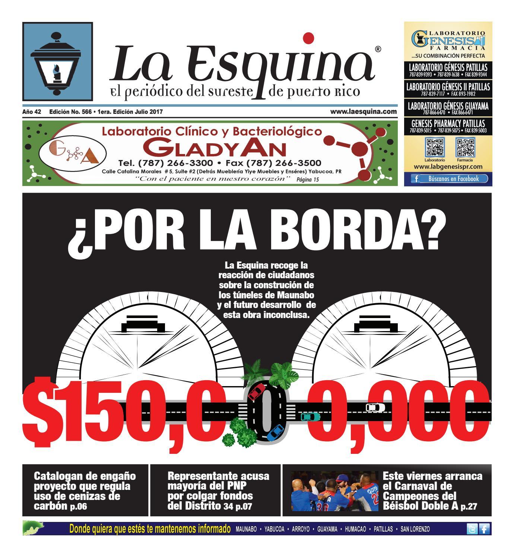 Periódico La Esquina - Edición 566 by Héctor I. De Jesús - issuu