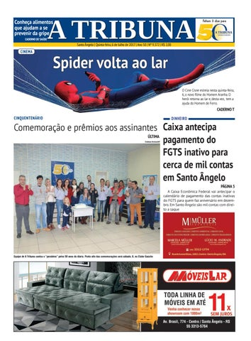 31b27ee5fecb0 Jornal a tribuna 6de julho de 2017 by Jornal A Tribuna - Santo ...