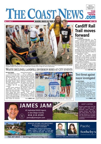 The Coast News July 7 2017 By Coast News Group Issuu