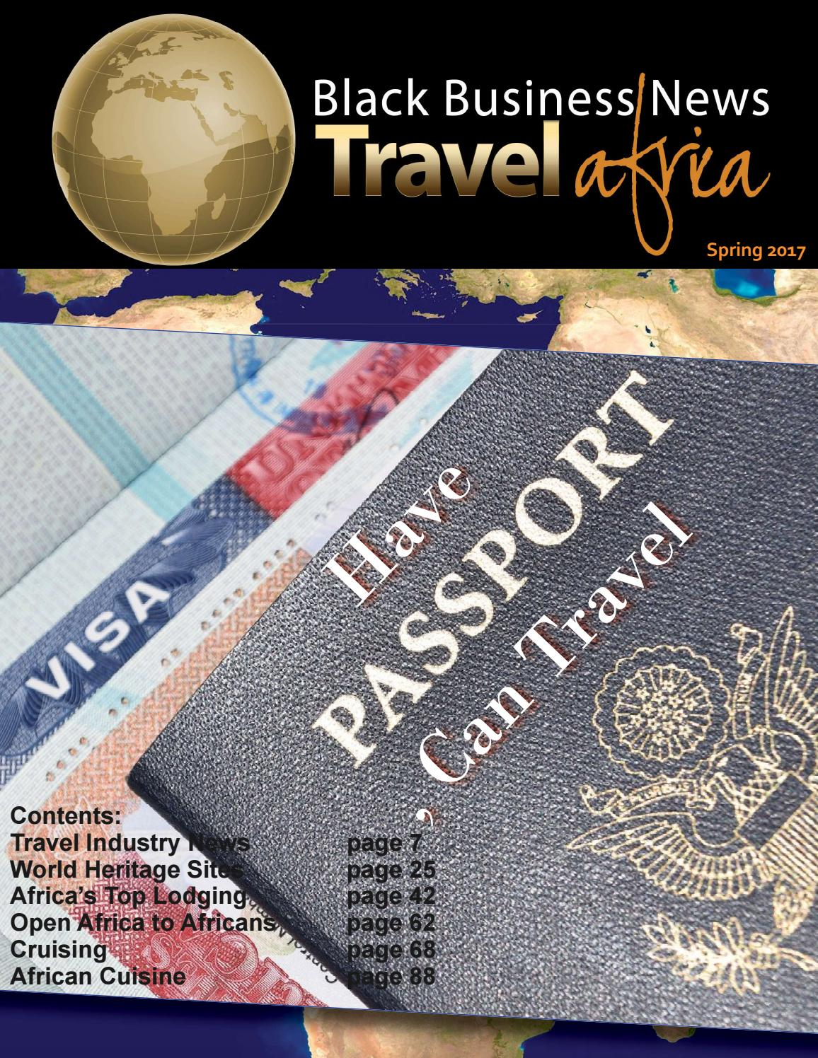 travel spring 2017 by black business news group issuu